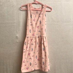 Girls Carter Mermaid Print Dress Size 6/6X
